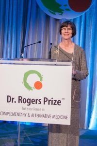 Dr. Helene Langevin Delivers the Keynote Speech at the Dr. Rogers Prize Award Gala
