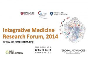 2014 Inaugural Integrative Medicine Research Network Forum