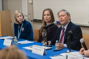 Dr. Wayne Participates in Wellness Panel at Discover Brigham