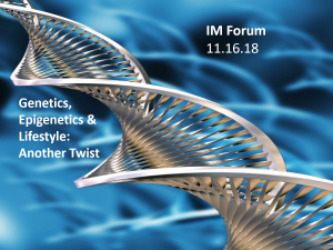 Speakers Announced for IM Network Forum: Keynote – George Church, Professor of Genetics at HMS