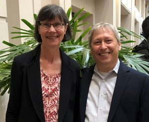 Langevin and Wayne at Chiropractic Conference, (ACC-RAC) March 2019