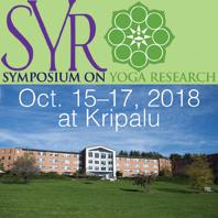 SYR 2018: Symposium on Yoga Research