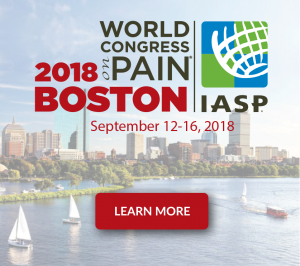 The 17th World Congress on Pain in Boston