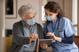 Grand Rounds: Navigating Uncharted Territory: Providing integrative therapies during a pandemic